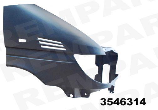 MB Sprinter 2000 sparnai,MB Sprinter 2000 priekiniai sparnai,MB Sprinter 2000 wings, MB Sprinter 2000 krilo