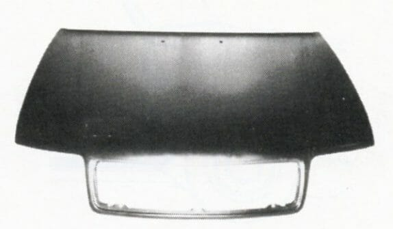 Audi 100 1991 Dangtis,Audi 100 1991 kapotas, Audi 100 1991 hood, Audi 100 1991 dalys