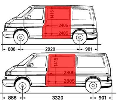 transporter t4 sono skarda, multivan sono skarda, caravelle sono skarda